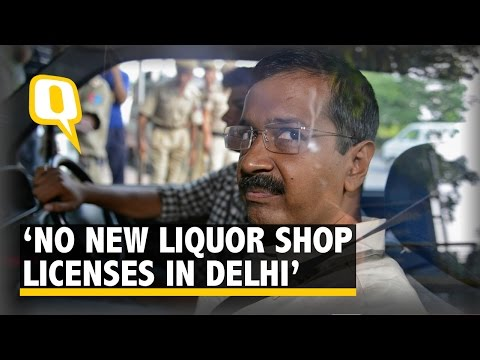 The Quint: No New Liquor Shop Licences in Delhi, Says Kejriwal