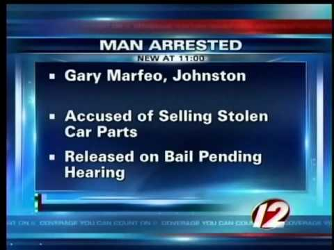 Man accused of selling stolen car parts
