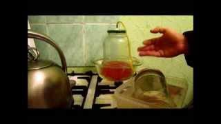 Вакуумная дистилляция - эксперимент №2