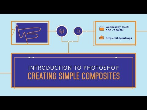 Introduction to Photoshop: Creating Simple Composites