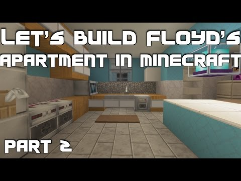 Let's Build Floyd's Apartment (Trevor's Safehouse) from GTA 5 in Minecraft: Part 2