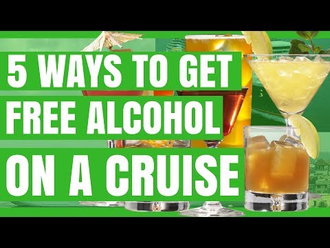 5 Ways to Get Free Alcohol on a Cruise