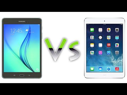 Galaxy Tab A 8 0 vs iPad Mini - Comparison