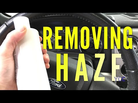 Removing Haze On Gauge Cluster Lens, Quick, Cheap and Easy.