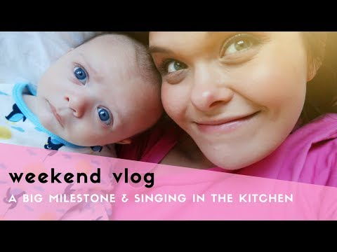 WEEKEND VLOG - HITTING A MILESTONE, SINGING IN THE KITCHEN & A CHEEKY NANDO'S