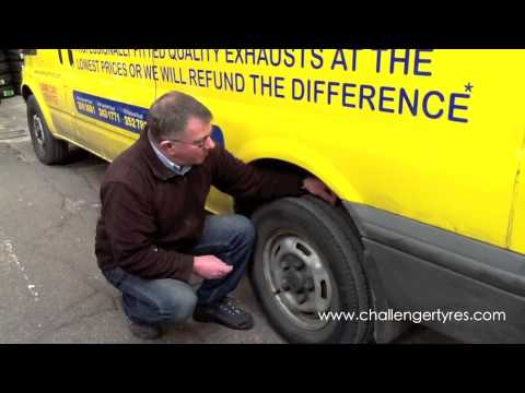 How to Check your Tyre Tread Depth - Challenger Tyres