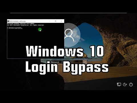Windows 10 Login Bypass