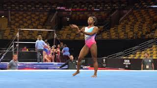 Simone Biles - Floor - 2018 U.S. Gymnastics Championships - Podium Training
