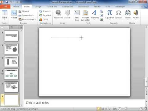PowerPoint 2010 Draw Multiple Lines or Connectors