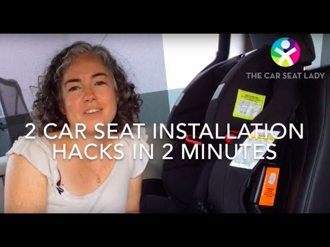 Car seat installation hacks every parent needs to know - The Car Seat Lady
