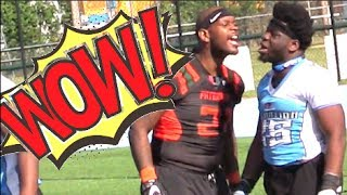 No Pads - No Helmets - All CRAZY - 🔥🔥 A7FL - Paterson NJ U vs NJ BIC 2-017 - 7v7 Full Contact