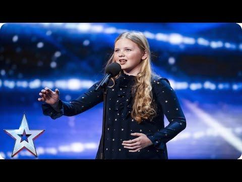 Beau Dermott is Amanda Holden's golden girl    Week 1 Auditions   Britain's Got Talent 2016