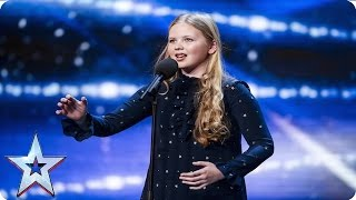 Beau Dermott is Amanda Holden's golden girl  | Week 1 Auditions | Britain's Got Talent 2016