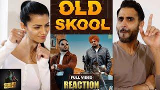 OLD SKOOL (Full Video) Sidhu Moose Wala   Latest Punjabi Song 2020   REACTION!
