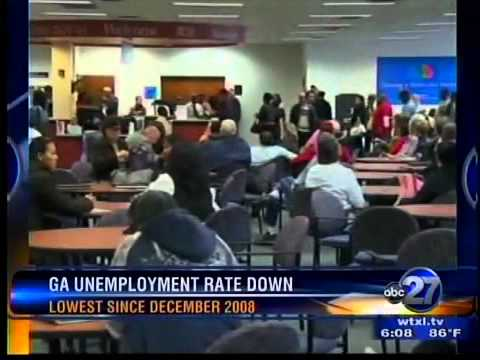 Ga. unemployment rate down