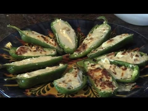 Cream Cheese-Stuffed Jalapeno Peppers : Delicious Dishes
