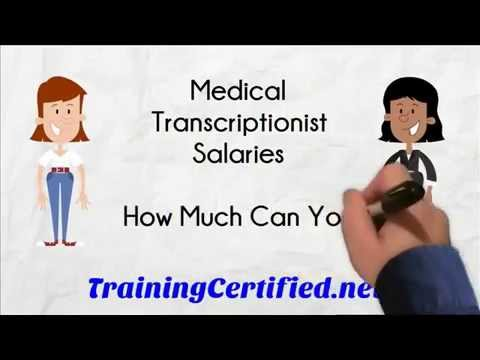 Medical Transcription Salary - How Much Do Transcriptionists Make?