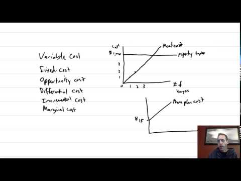 MA Module 2, Video 2, Cost Terminology