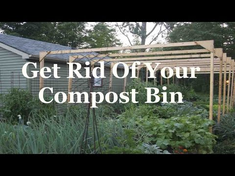 Get Rid Of Your Compost Bin
