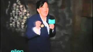 Ellen - Writer Amy screams like a mad person