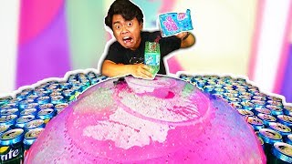 WUBBLE BUBBLE SPRITE POP ROCKS EXPERIMENT!