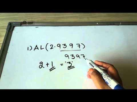 Calculate Antilog