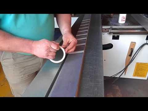 WOODMAN: Folding technique for L-shape skirting board / Фолдинг технология для плинтуса