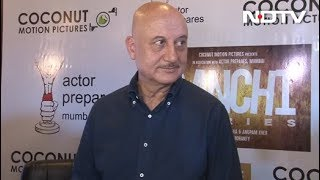 Anupam Kher On Working With Newcomers In