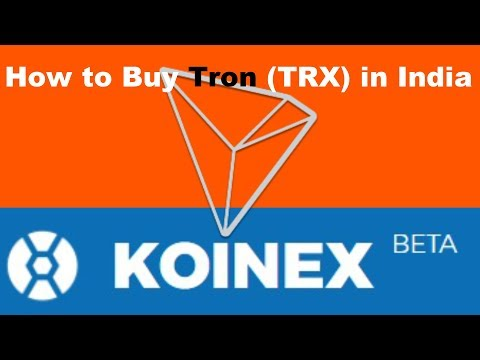 How to Buy Tron (TRX) Coin in India