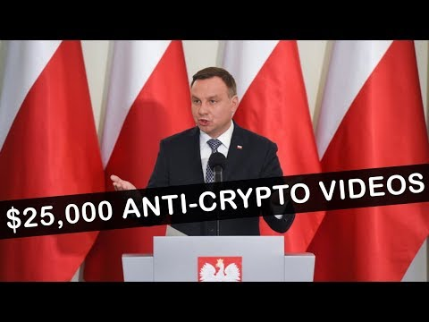 Polish Government Funds Anti-Crypto YouTube Videos! ($25,000)