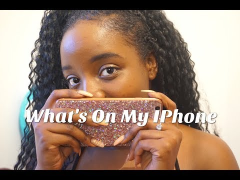 What's On My IPhone 6s Plus