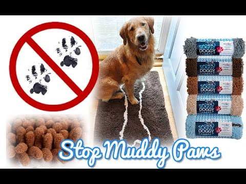 Soggy Doggy Doormats - Keep Wet Or Muddy Paw Prints Off The Floor