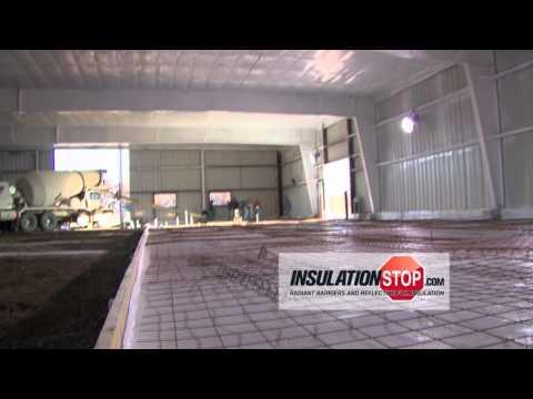 Insulation for Under Concrete Slab - InfraStop® Concrete Pad