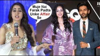 Download Sara Ali Khan's JEALOUS Reaction On Kartik Aaryan DATING Ananya Panday Video