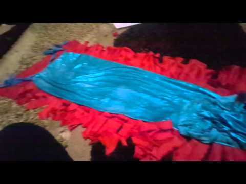 How to make a mermaid tail no sew, no tape and no glue