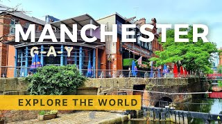 🇬🇧 Walking in Manchester   Gay Village Tour   England UK   4K HDR 60fps