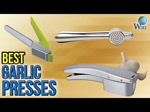 10 Best Garlic Presses 2017