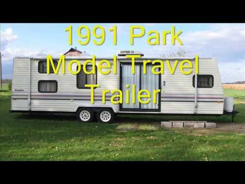 1991 Park Travel Trailer For Sale