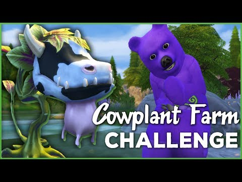 Harvesting Wild BEARries!! 🐄🌱 Sims 4 Cowplant Farm: Episode #11