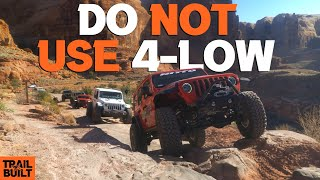Do NOT Use 4-Low Offroad    Watch First!