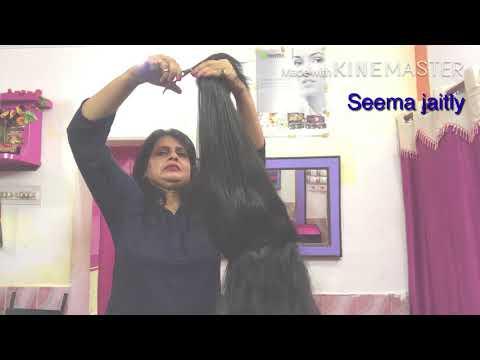 Long Hair cut with layers and Steps Cut/Shag Cut/ Long Hair Cut 2018/Seema jaitly