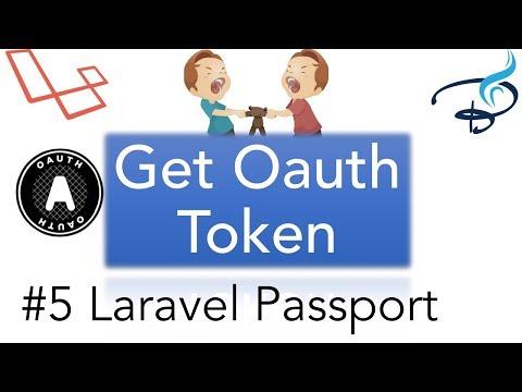 Laravel Passport |  | OAuth 2.0 | Get OAuth Token #5