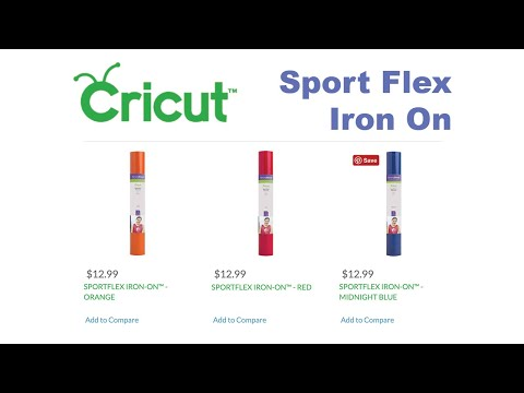 How to use the Cricut Easy Press with Sport Flex