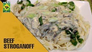 Beef Stroganoff   Food Diaries   Masala TV Show   Zarnak Sidhwa