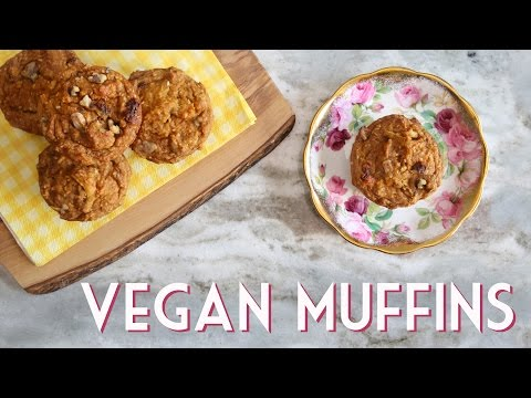 EASY VEGAN MUFFINS | Morning Glory