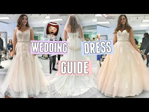 Ultimate Wedding Dress Shopping Guide! Tips, Advice + My Experience!