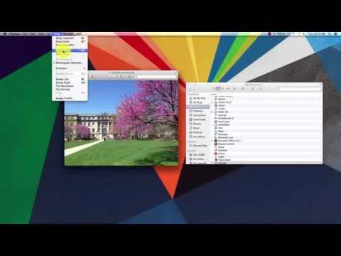 Cropping an Image in Preview (Mac)