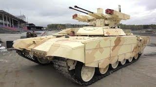 Uralvagon Zavod - Bmpt-72 Terminator 2 Tank Support Fighting Vehicle Rae 2013 Showcase [720p]