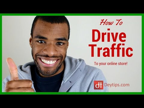 How to drive traffic to your online store with a list