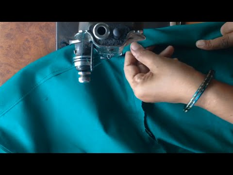 Saree petticoat stitching